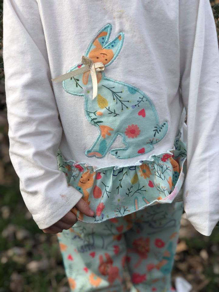 girl's Easter outfit