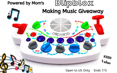 Making Music with Blipblox Guest Giveaway