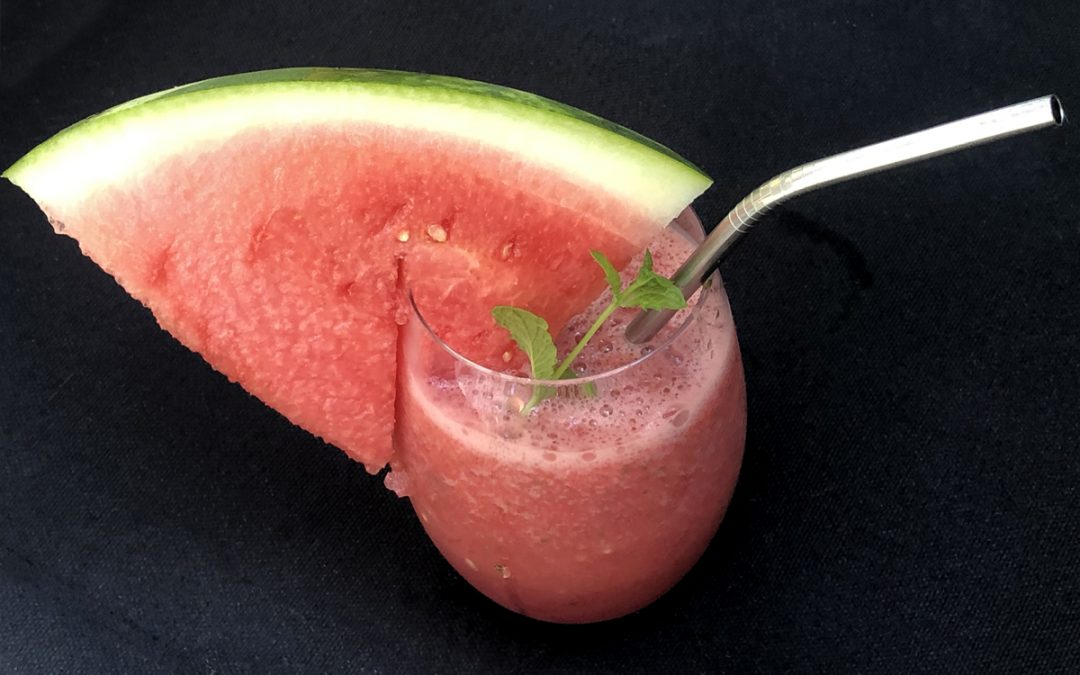 Watermelon Mojito Slush Drinks