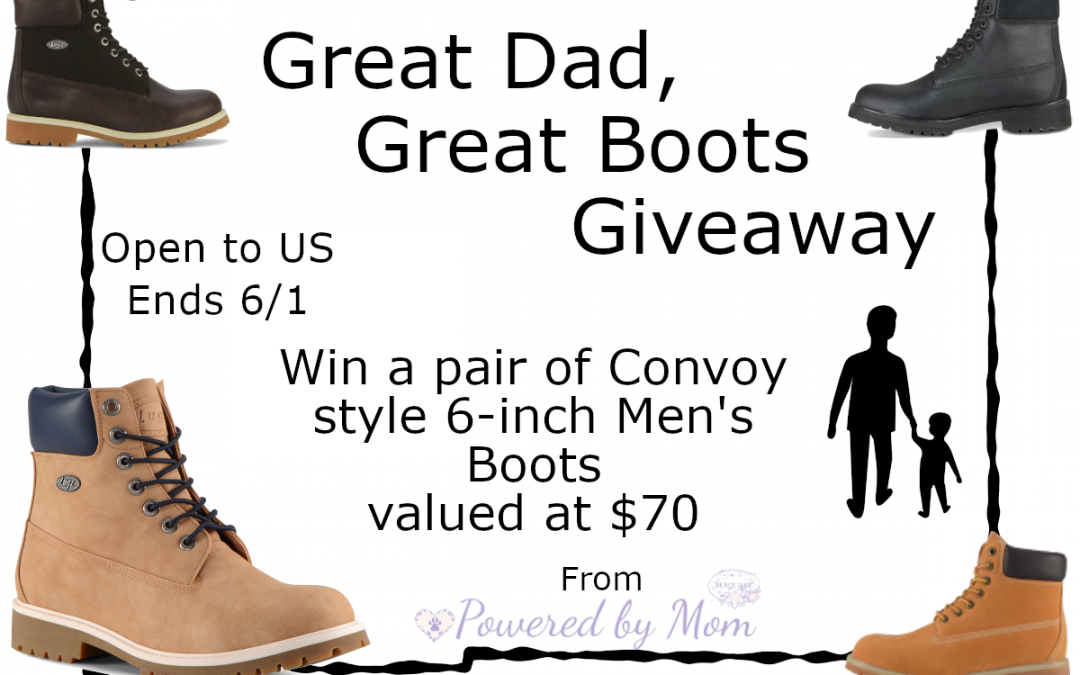 Great Boots for A Great Dad This Father's Day