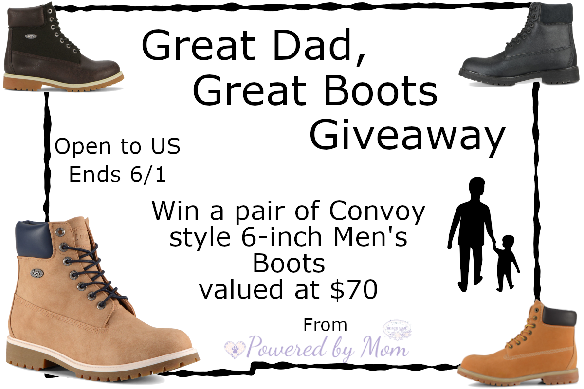 great boots for a great dad giveaway